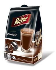 René Chocolate horká čokoláda kapsle pro Dolce Gusto 16ks