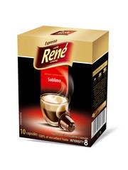 René Sublimo 10x kapsle pro Nespresso