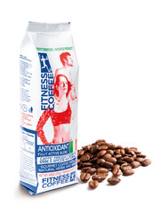 Fitness coffee Antioxidant fully active blend zrnková káva 250 g