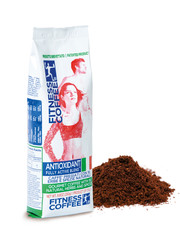 Fitness coffee Antioxidant fully active blend mletá káva 250 g