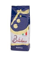 La Brasiliana Marfisa 100% Arabica zrnková káva 1 kg