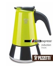 Moka konvice Pezzetti SteelExpress 6 šálků zelená