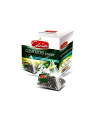 Celmar čaj zelený Gunpowder a jasmín pyramidové sáčky 20ks