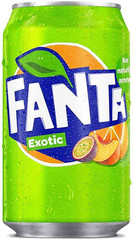 Fanta exotic 330ml plech