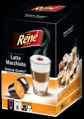 René Latte Macchiato kapsle pro Dolce Gusto 16ks