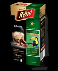 René Colombia kapsle pro Nespresso 10 ks
