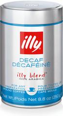 Illy Espresso bez kofeinu mletá káva 250 g