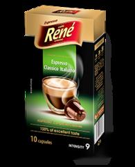 René Espresso Classico Italiano kapsle pro Nespresso 10 ks