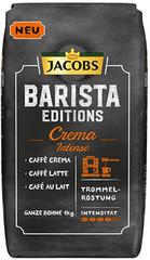 Jacobs Barista Editions Crema Intense zrnková káva 1 kg