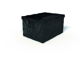 Surplus plastový box s víkem 223 x 400 x 300 mm, černá