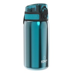 ion8 Leak Proof nerezová láhev Aqua, 400 ml