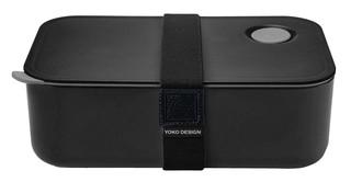 Yoko Design box na jídlo, černý
