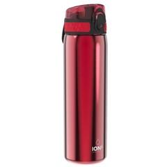 ion8 Leak Proof nerezová láhev Red, 600 ml