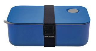 Yoko Design box na jídlo, modrý