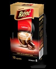 René Sublimo kapsle pro Nespresso 10 ks