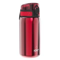 ion8 Leak Proof nerezová láhev Red, 400 ml