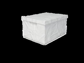 Surplus plastový box s víkem 223 x 400 x 300 mm, bílá